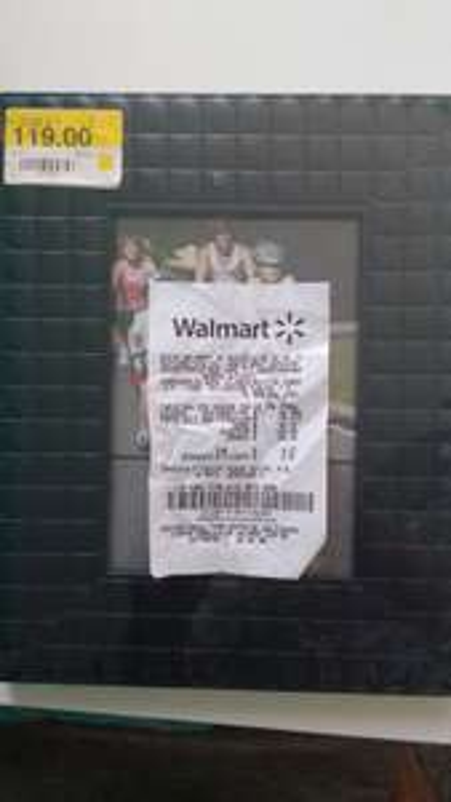 Walmart Cuemanco: Portaretrato de $119 a $19.01