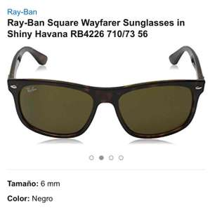 Amazon MX: lentes Ray-Ban Wayfarer a $1,799