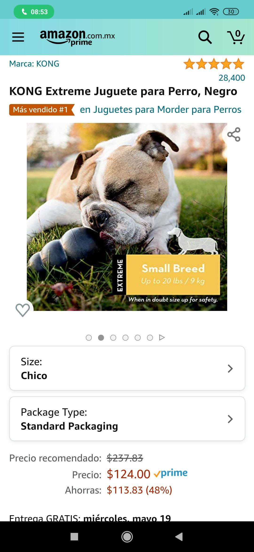 Amazon: KONG Extreme Juguete para Perro