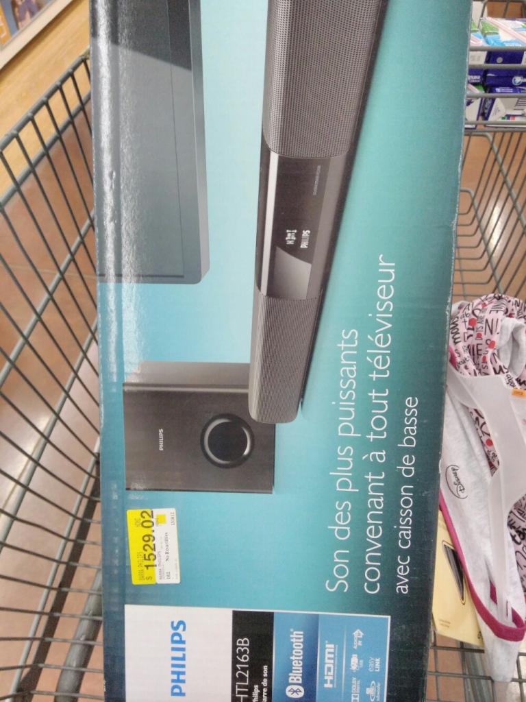 Walmart Jesús del Monte: Barra de Sonido Philips a $1,095.01