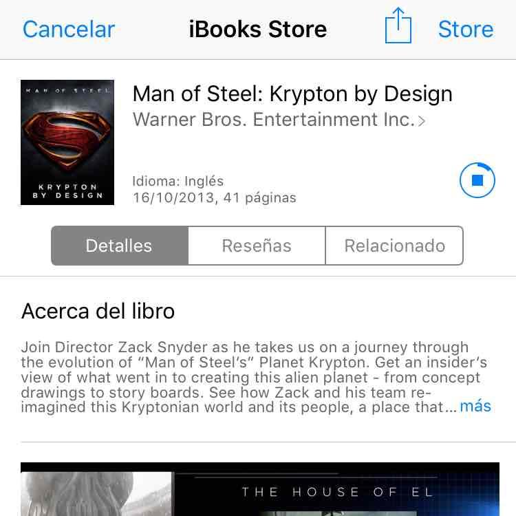 iTunes: Man of Steel: Krypton by Design gratis