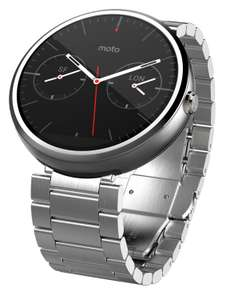 Amazon: Motorola Moto 360 1ra Gen Correa de Metal Smart Watch