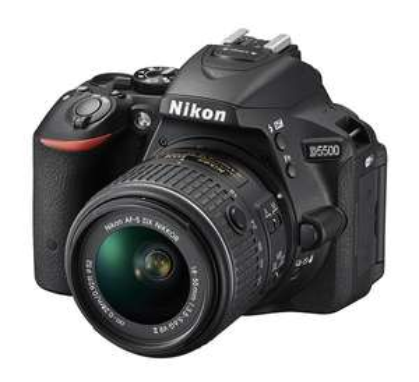 Best Buy: Cámara Nikon D5500 con lente 18-55MM negra