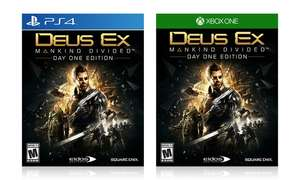 Amazon: Deus Ex Mankind Divided para PS4/Xbox One