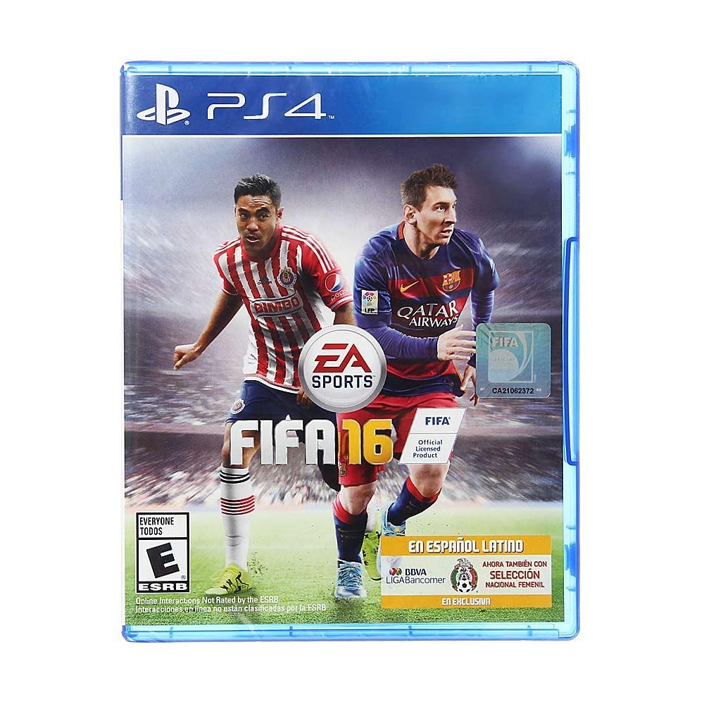 Innovasport: FIFA 16 para ps4 a $99
