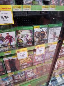 Walmart: Far Cry Primal y PvZ Garden Warfare para Xbox One a 199.03 c/u
