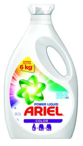 Amazon: Ariel Detergente líquido concentrado Power Liquid Color 3l a $92, Ace líquido a $98.99