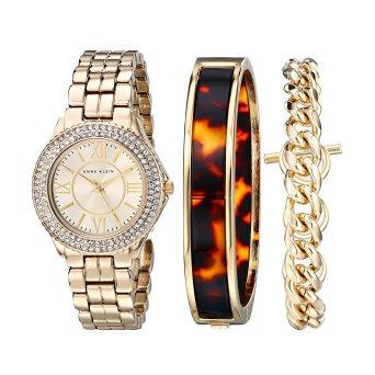 Amazon Mexico:  Anne Klein (reloj dama + set de 2 brazaletes)