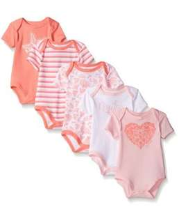 Amazon: Nautica Baby Girls' 5 Pack Bodysuits $135