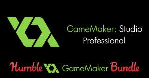 Humble Bundle: Game Maker Pro + ios, Android Export + 17 juegos