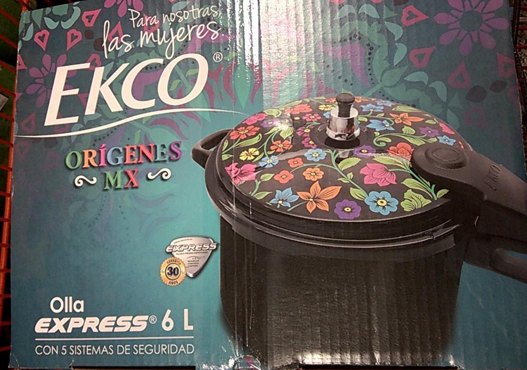 Chedraui Mina Villahermosa: Olla de Presión Ekco 6 litros de $550 a $275