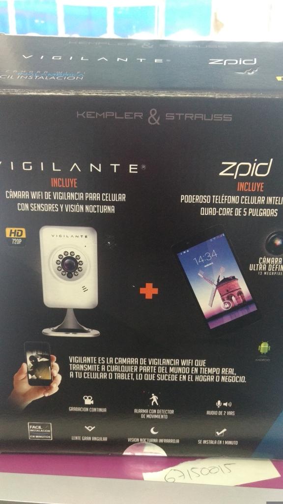 Walmart Cd. Jardín: celular + cámara de vigilancia en última liquidación a $1,395.01