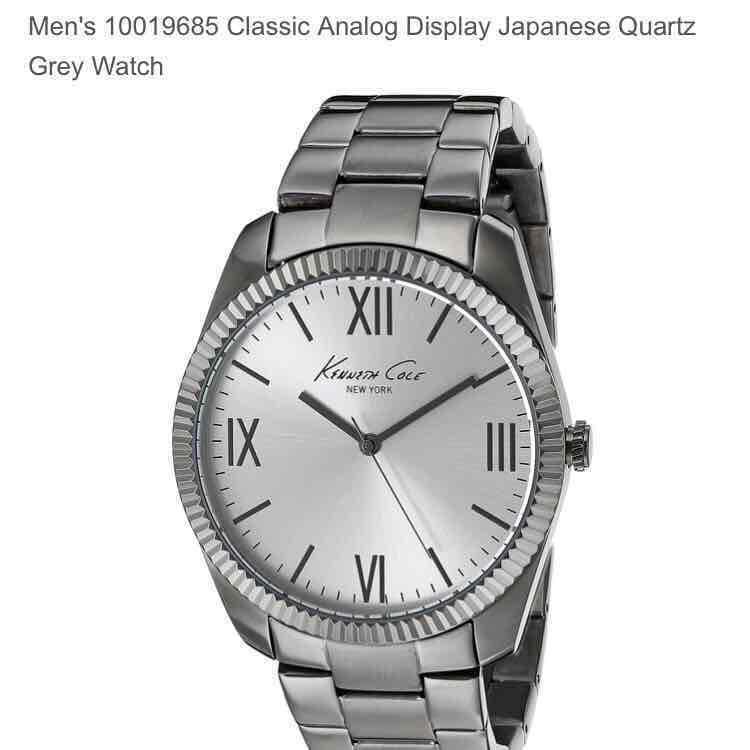 Amazon USA: Reloj Kenneth Cole (hombre) a $980.15