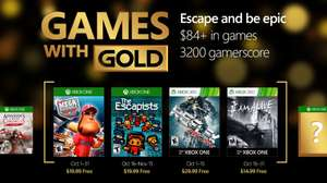Xbox Live Gold: Games With Gold De Octubre