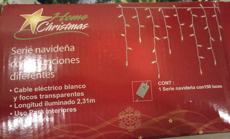 Comercial Mexicana Universidad CDMX: Serie de luz navideña a $35.40