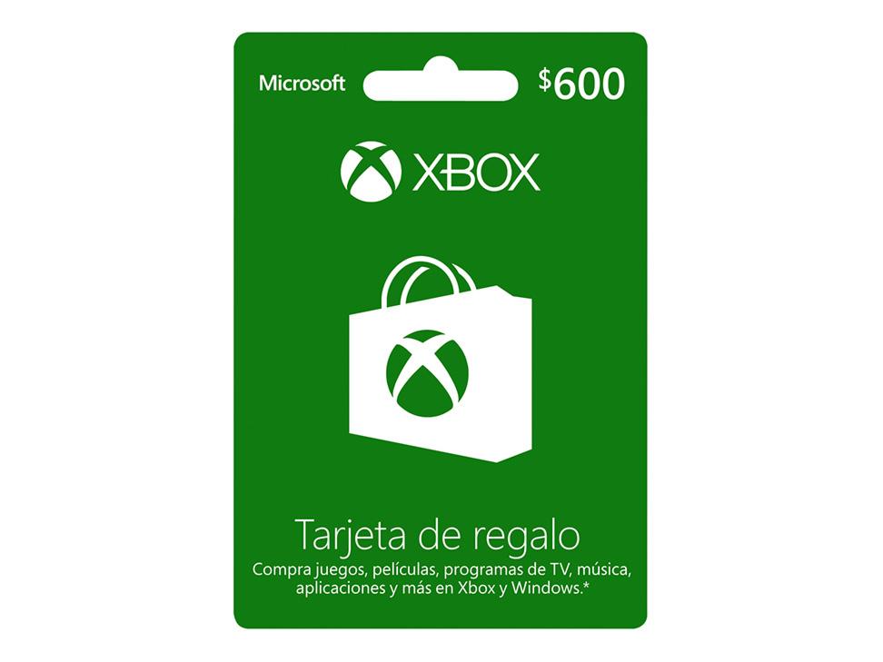 Liverpool: Tarjetas prepago Xbox Live 20% de descuento.