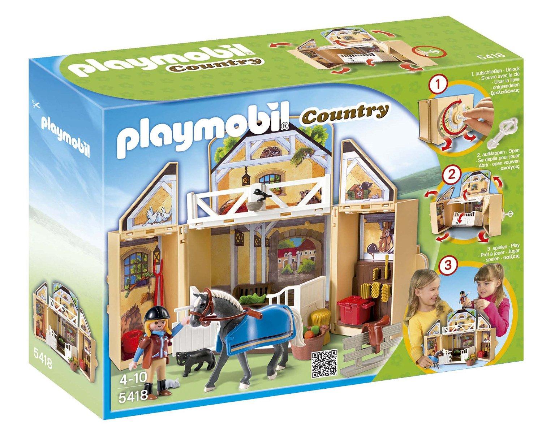 Amazon: Set Playmobil My Secret Horse Stable Play Box