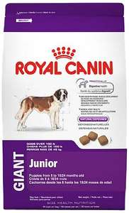 Amazon: Royal Canin Croquetas para Razas Gigantes, Giant Junior, 13.6 kg