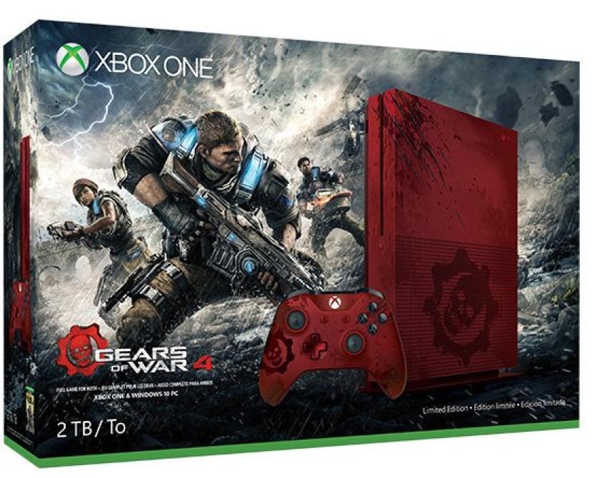 Liverpool: Preventa Xbox One S 2TB Edición Limitada Gears of War 4