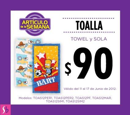 Artículo de la semana en Suburbia: toallas a $90