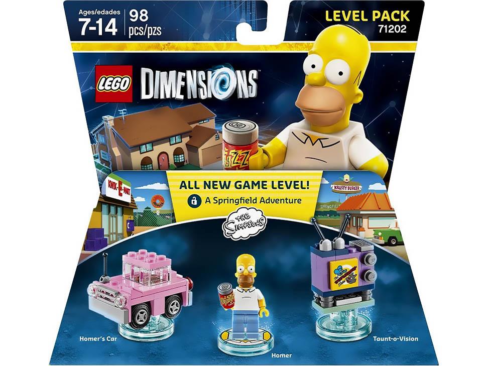 Liverpool: DIMENSIONS LEVEL PACK SIMPSONS LEGO en $79.00