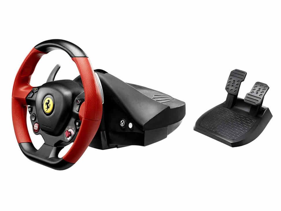 Liverpool en línea: Volante Xbox One Ferrari 458 Thrustmaster, de $3000 a $2399