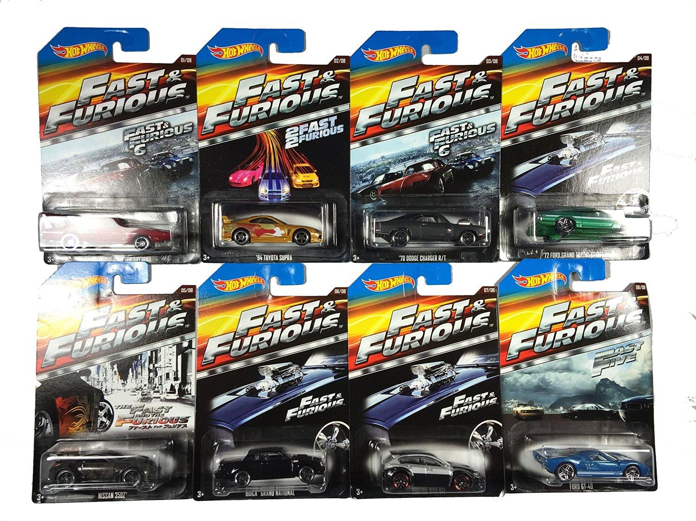 Amazon: Hot Wheells RAPIDO Y FURIOSO SURTIDO 8 carros a $59 + $99 de envío (vendido y enviado por un tercero)