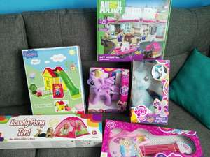 Soriana: Peppa pig, Little Pony, etc 70%