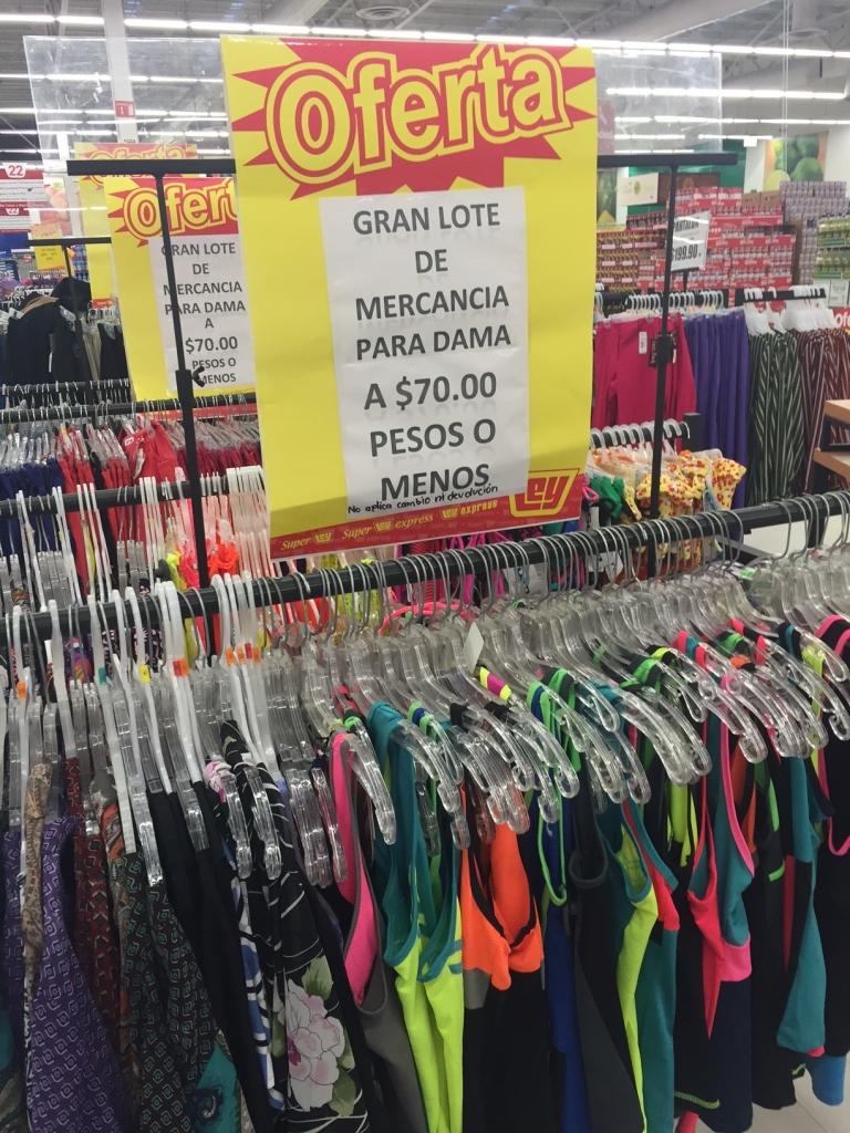 Tienda LEY 3 Rios (Culiacan): ropa para toda la familia a menos de $70