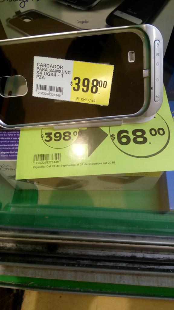 La Comer: cargador portátil samsung a $68 antes $399 y más