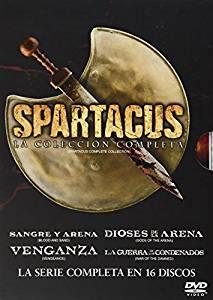 Amazon: Spartacus (La Serie Completa) - DVD a $299