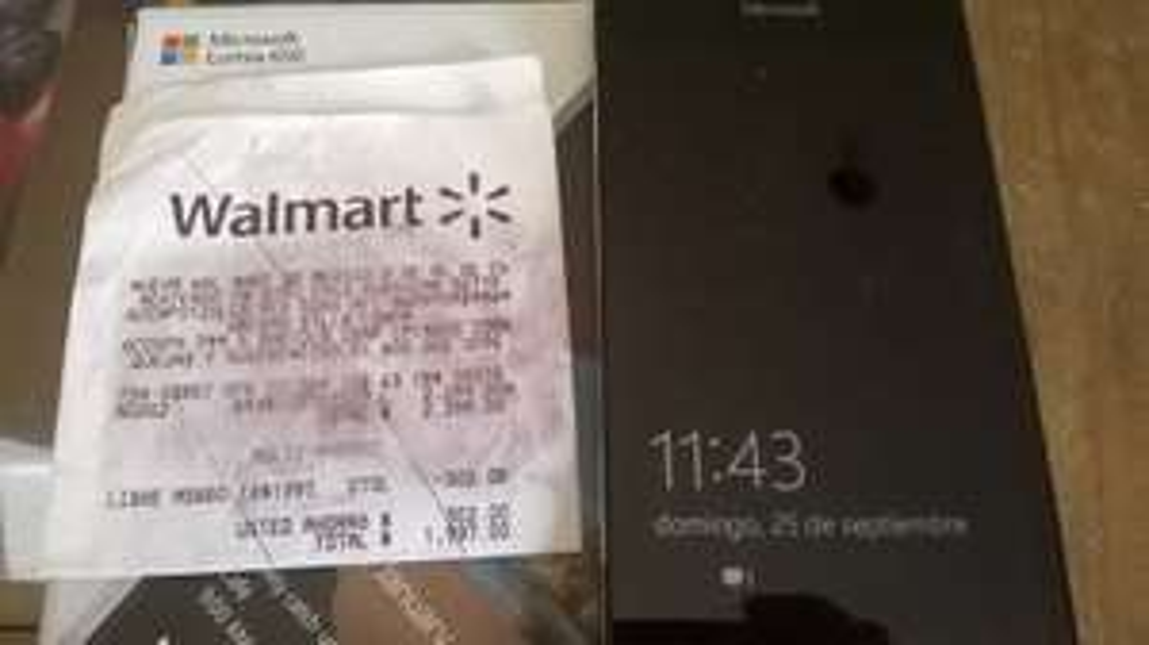 Walmart Villa Coapa: Lumia 650 negro