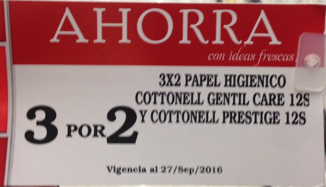 Soriana Súper Eugenia CDMX: 3x2 en papel higiénico kleenex cottonelle 12 piezas