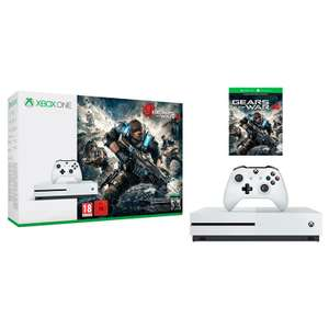 Elektra: Xbox One S 500GB (Fifa 17, Minecraft, GOW4) a $5989 + 18 MSI