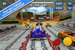 Sonic & Sega All-Star Racing para iPhone y iPad gratis