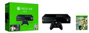 Amazon: Xbox One Consola, 500 GB, color Negro + Juego FIFA 17 - Bundle Edition