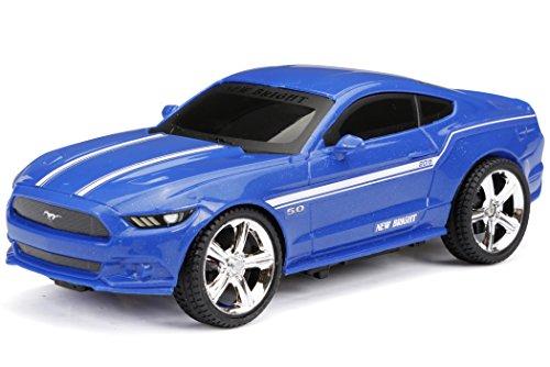 Amazon USA: carrito de r/c New Bright R/C F/F Mustang (1:24 Scale) a $6.62usd más envío