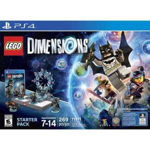 Amazon: Lego Dimensions Starter Pack - PlayStation 4 a $399 y Xbox 360 a $499