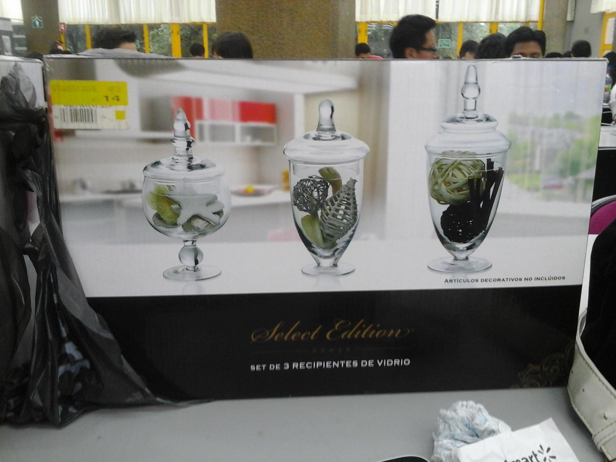 Walmart: Canister de Cristal ultima rebaja