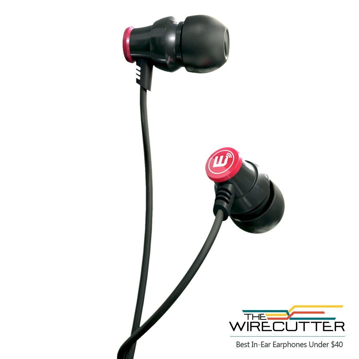 Amazon MX: Audífonos Brainwavz Delta (con manos libres para iPhone) color negro a $489