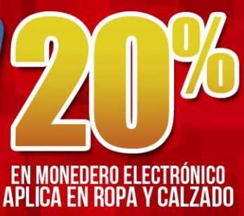 Mister Tennis: 20% en monedero electrónico en ropa y calzado