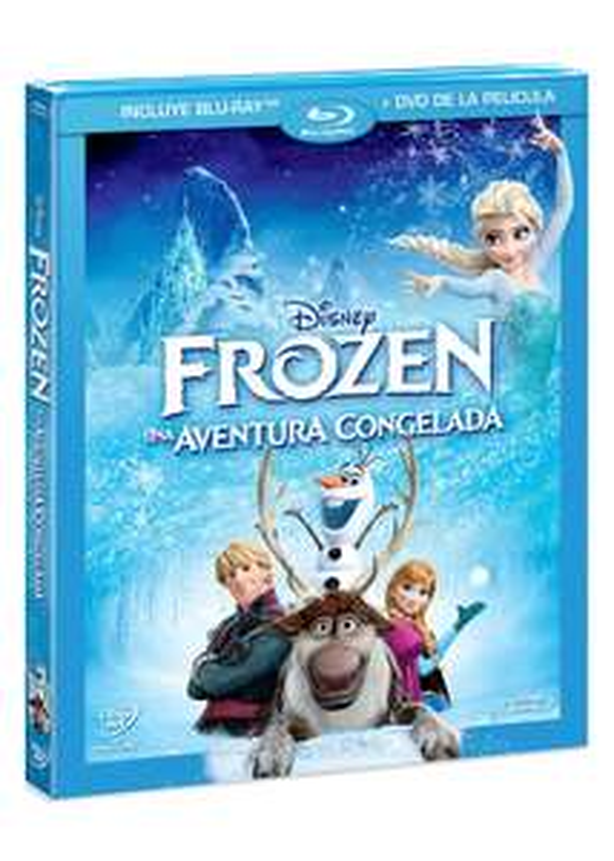Amazon MX: Frozen (BR + DVD Combo Pack)