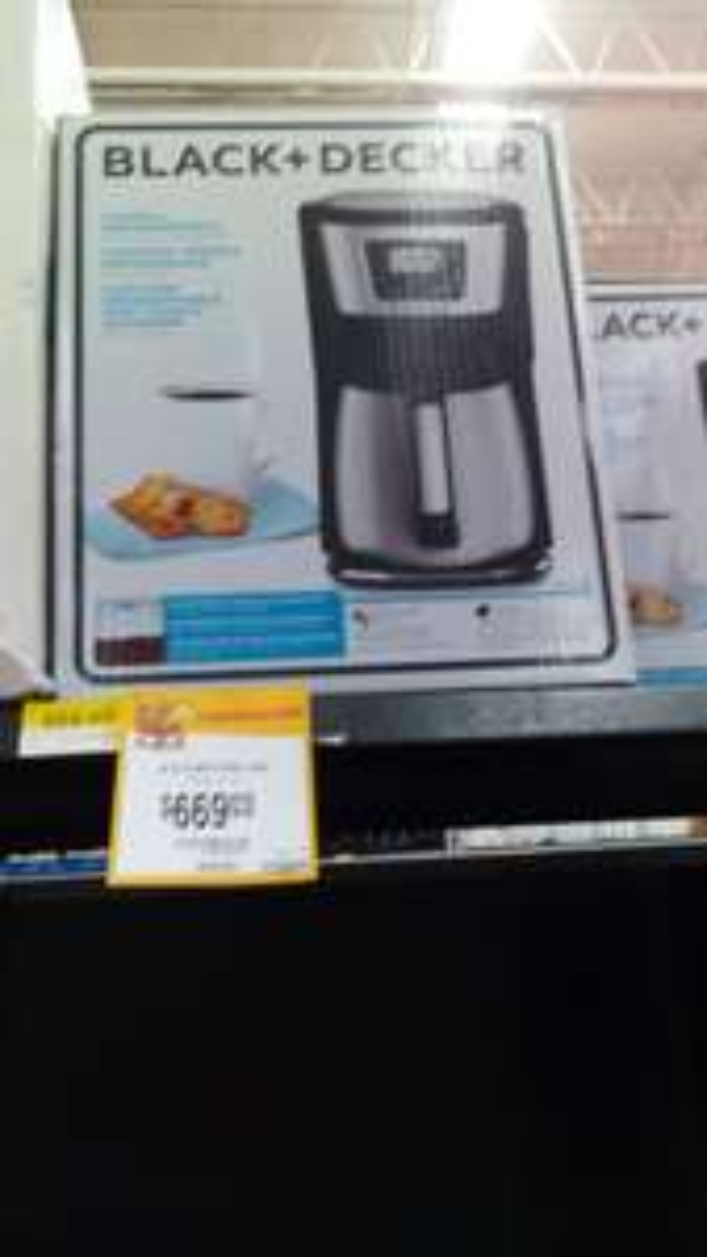 Walmart Vado del Río: Cafetera Black & Decker a $669.03, aire inverter 1ton Samsung a $6,919.02