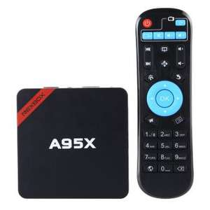 Linio: TV Box NEXBOX A95X Amlogic S905 Quad Core de 64 bits Android 5.1 4K inteligente Media Player 1 GB 8 GB de 2,4 GHz Wi-Fi