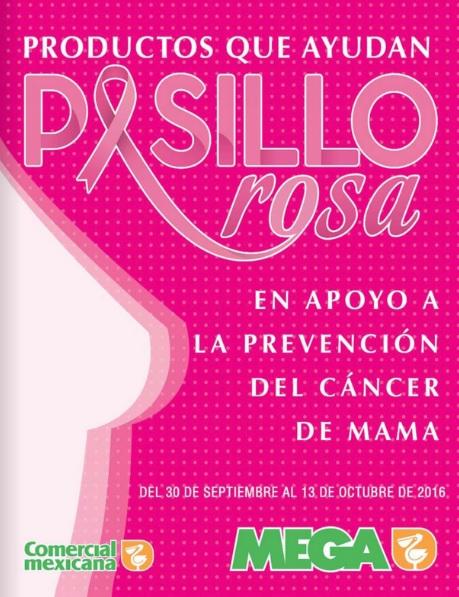 Comercial Mexicana: Folleto Pasillo Rosa del 30 de Septiembre al 13 de Octubre