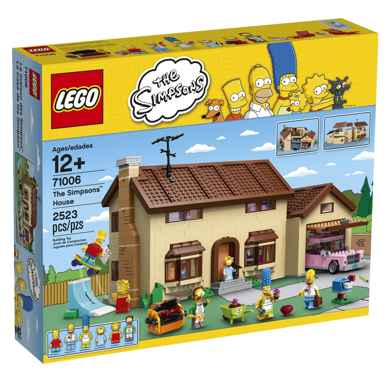 Amazon: La casa de los Simpsons Lego a $2,847