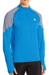Amazon: Sudadera Champion quarter-zip TALLA L