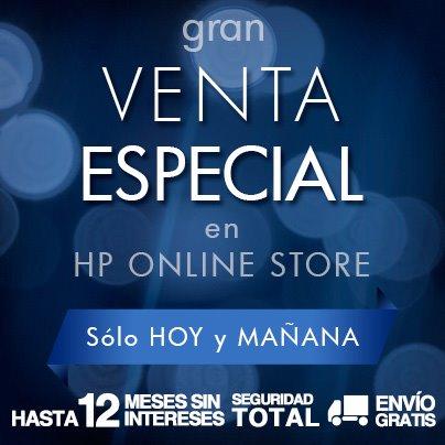 Venta especial HP: teclado inalámbrico $189, mouse $50, backpack $109 y más
