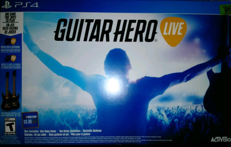 Fábricas de Francia: Guitar Hero Live Dos guitarras PS4