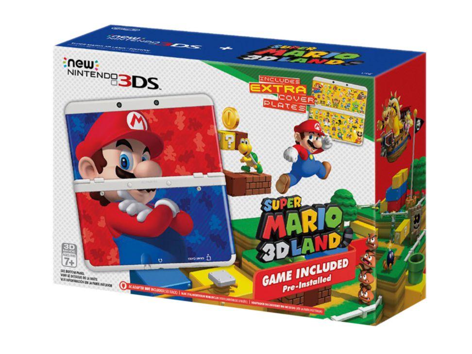 Liverpool online: New Nintendo 3ds con Super Mario 3D Land